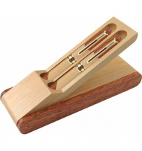 Rosewood and Maple Pen or Pencil Set.